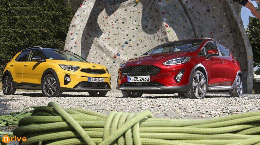 Ford Fiesta Active Gegen Kia Stonic