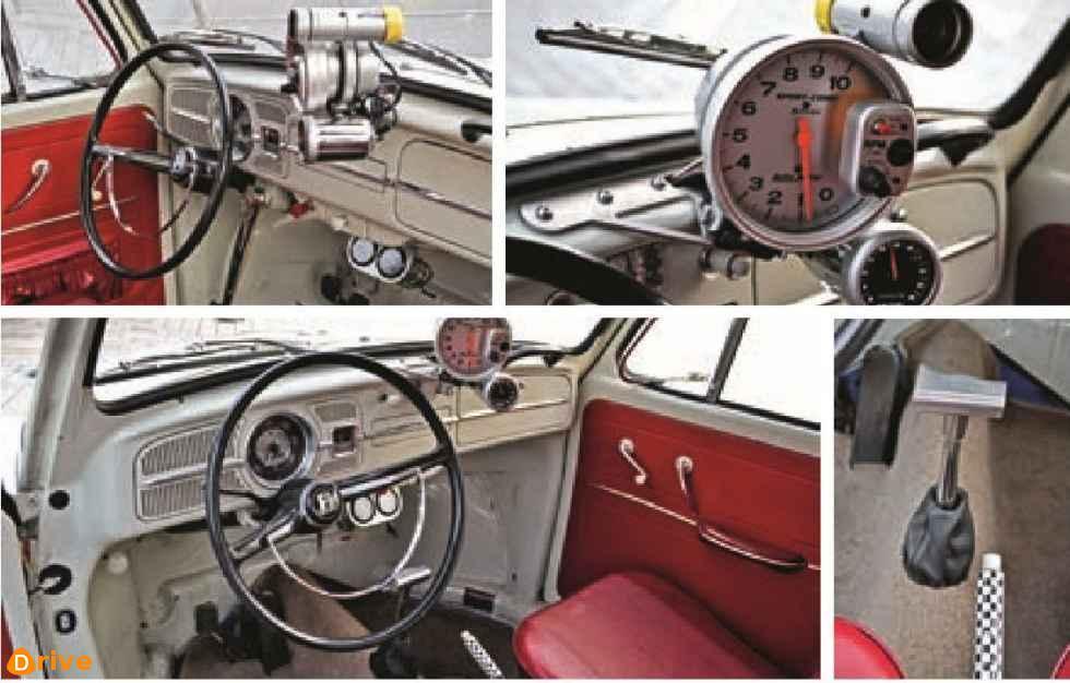 1965 VW Käfer interior