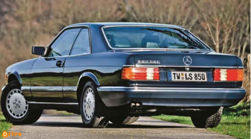 1980er Mercedes S Klasse W126 Coupé 560sec 04