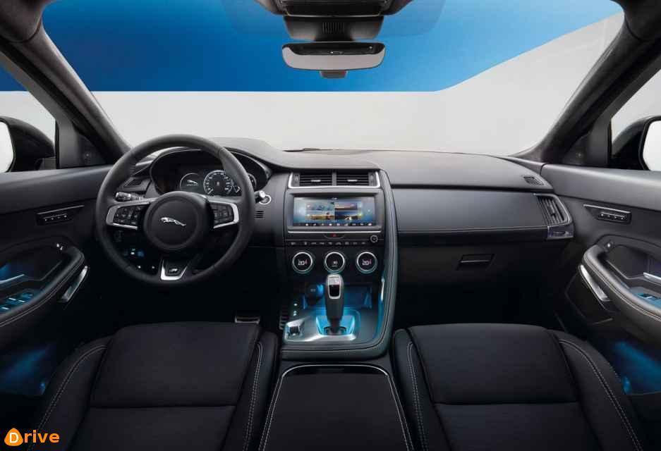 2019 Jaguar E PACE S D240 AWD interior