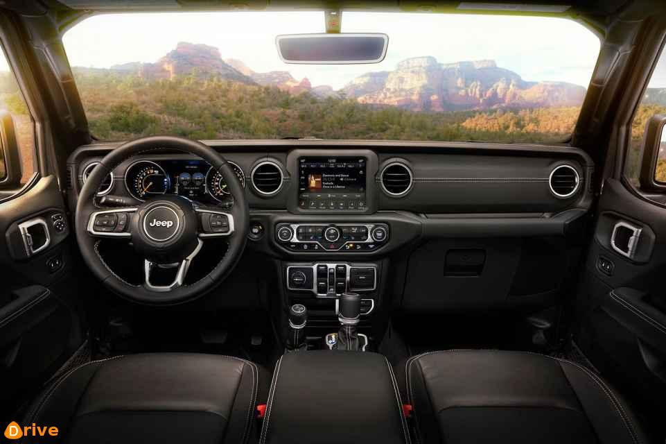 2019 Jeep Wrangler interior