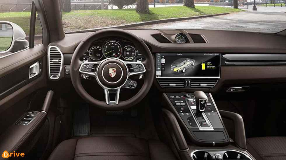 2019 Porsche Cayenne E Hybrid interior