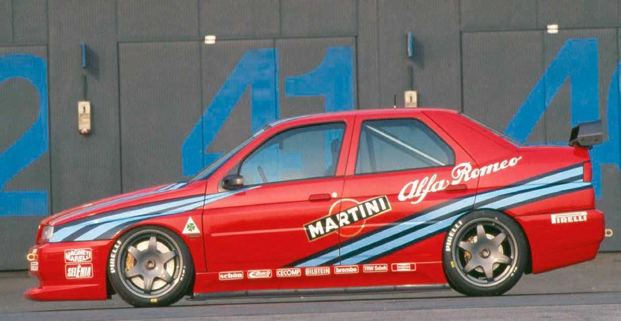 20 Races – 17 Victories 1992 Alfa Romeo 155 GTA Stradale