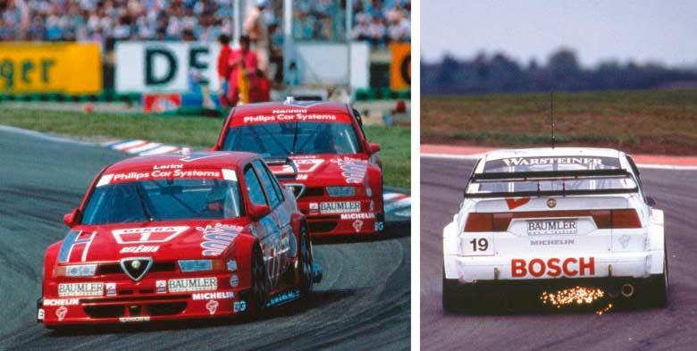 20 Races – 17 Victories 1992 Alfa Romeo 155 GTA