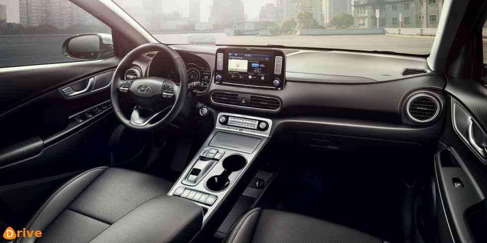 2019 Hyundai Kona Elektro interior