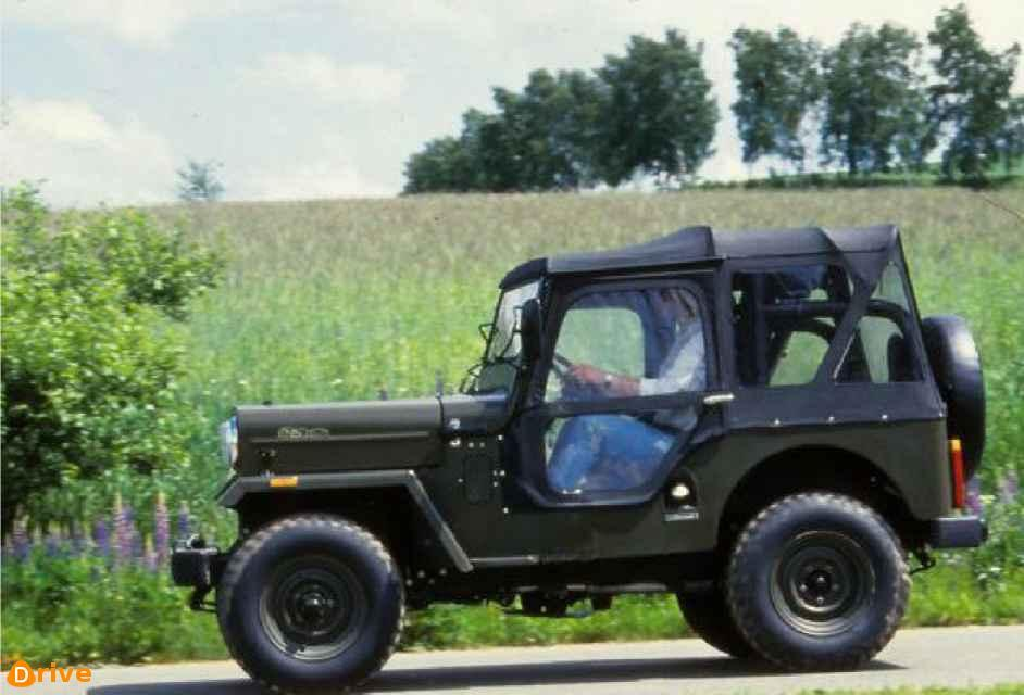 Jeep Mahindra CJ 340