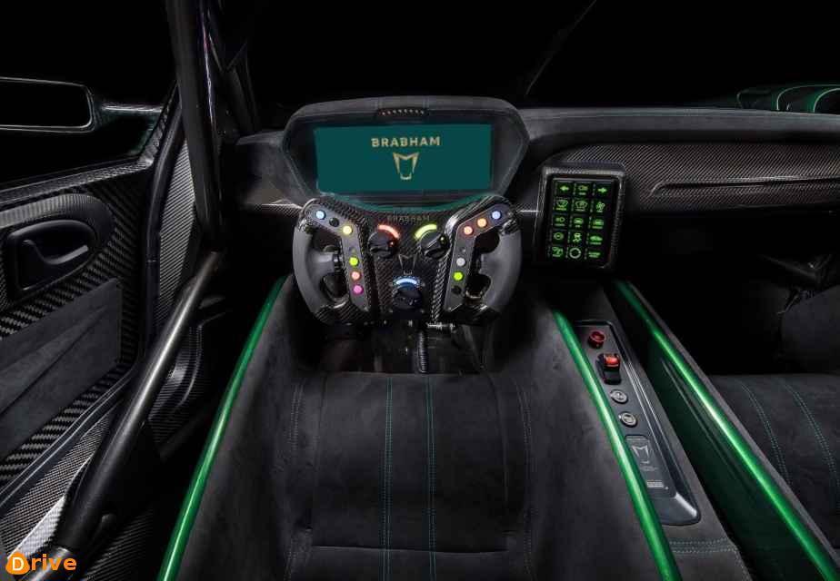 2019 Brabham BT62 interior