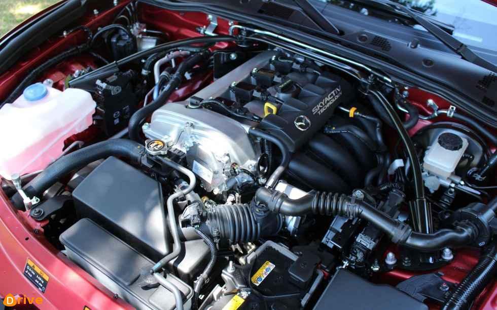 2019 Mazda MX 5 engine