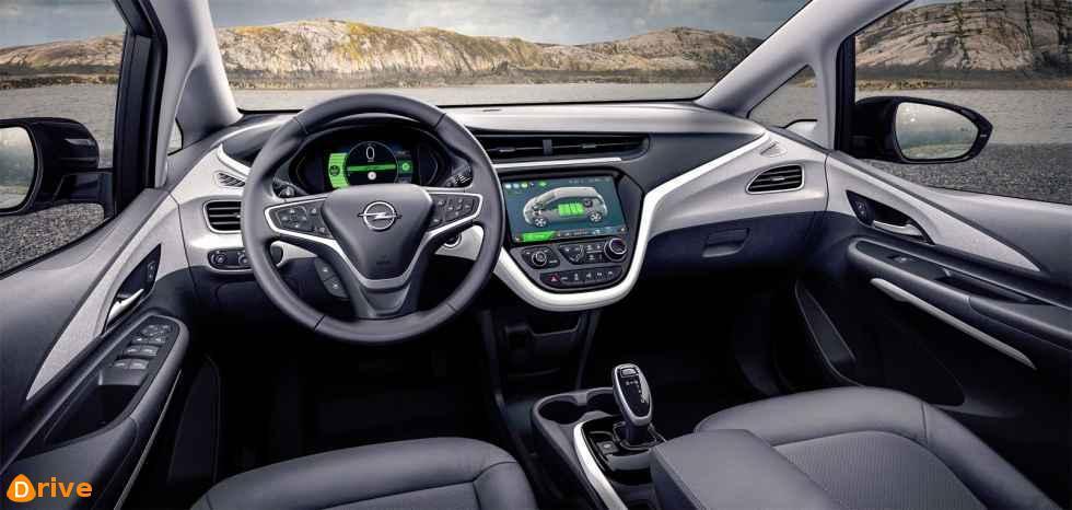 2019 Opel Ampera e interior