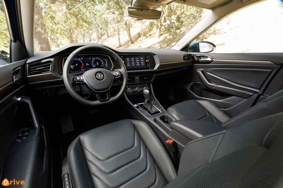 2019 VW Golf TDI interior