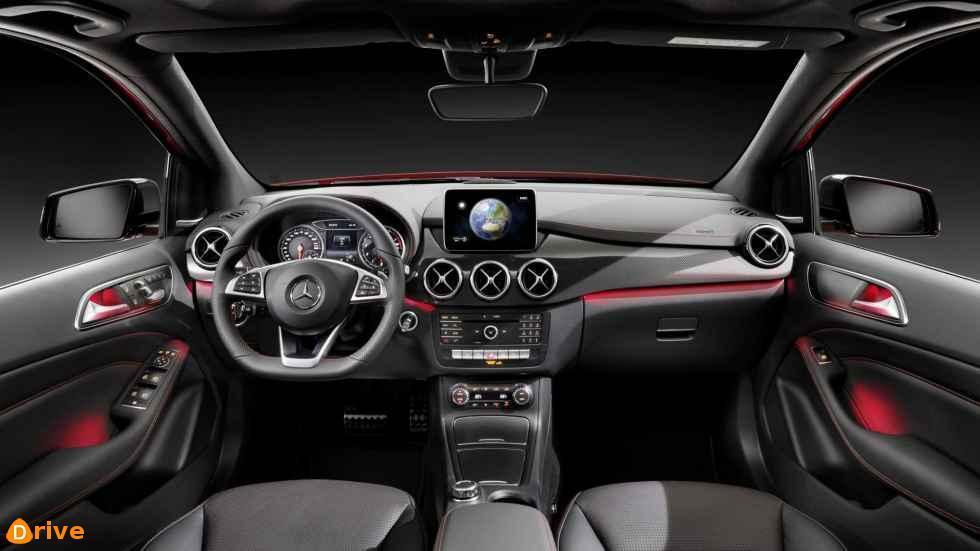 2019 Mercedes Benz Classe B interior