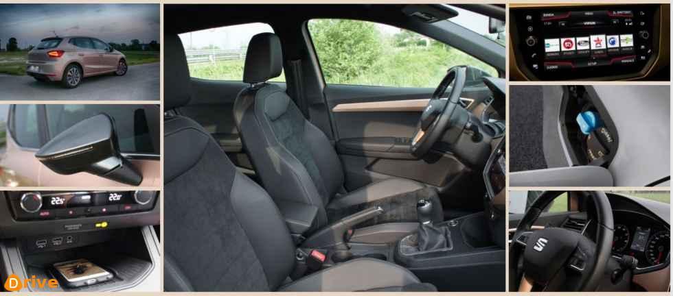 2019 Seat Ibiza interior