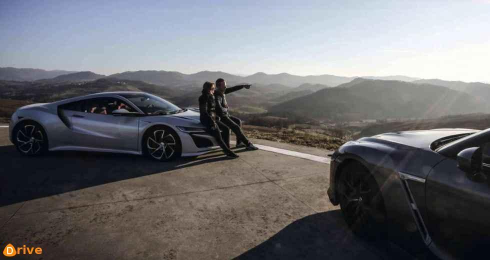 Honda NSX vs Nissan GT-R