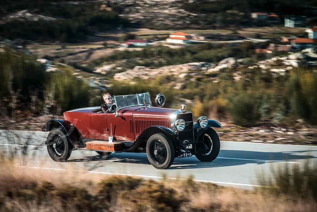 1924 Hispano-Suiza H6B - road test