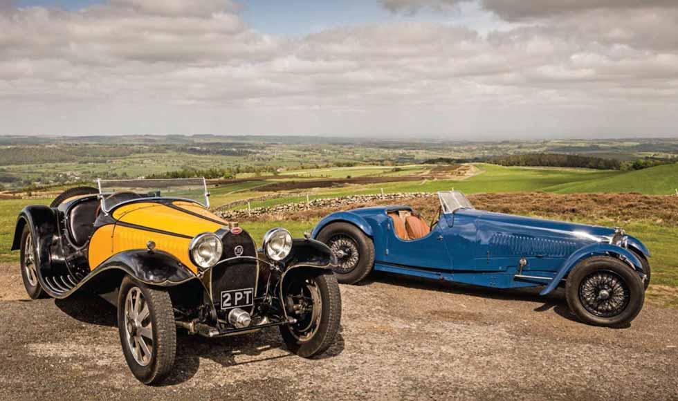 1932 Bugatti Type 55 vs. 1934 Bugatti Type 57S