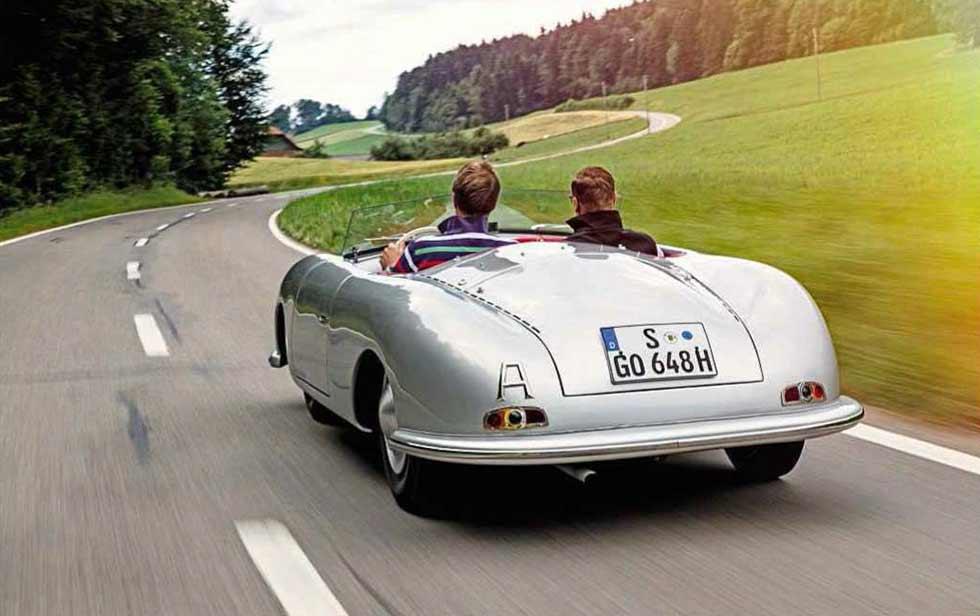 1948 Porsche 356 Number One - road test