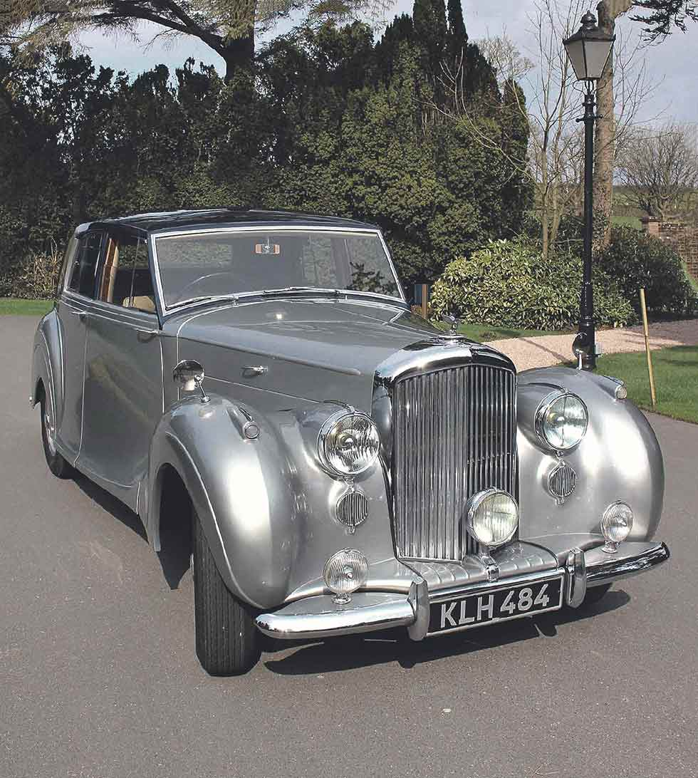 1949 Bentley MkVI James Young-bodied