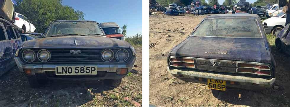 Rare 1973 Mazda 929 saved