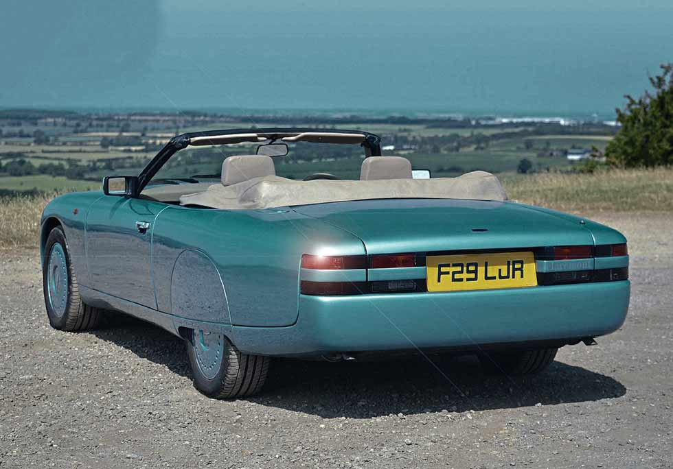 1989 Railton F29 Claremont we drive one of two Jaguar XJ-S-based Railtons from the late Eighties created by the British designer William Towns