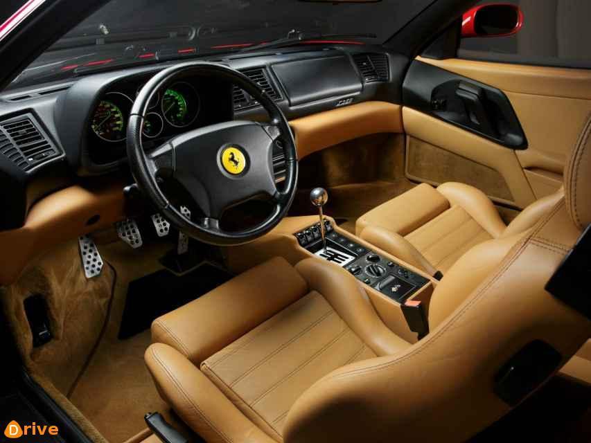 1999 Ferrari F355 Berlinetta interior