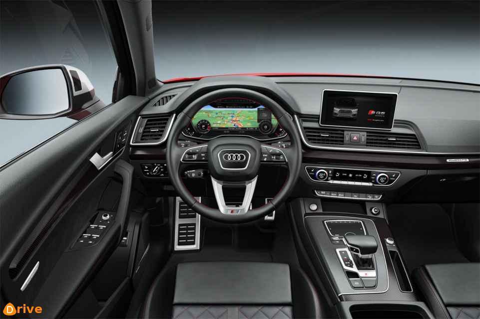 2018 Audi SQ5 interior