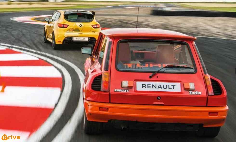Clio Rs16 VS Renault 5 Turbo 1