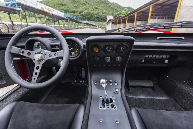 Lamborghini Miura SVR - on track -reborn 2018 version