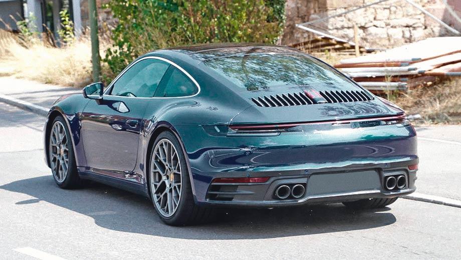 Next-generation Porsche 911 992