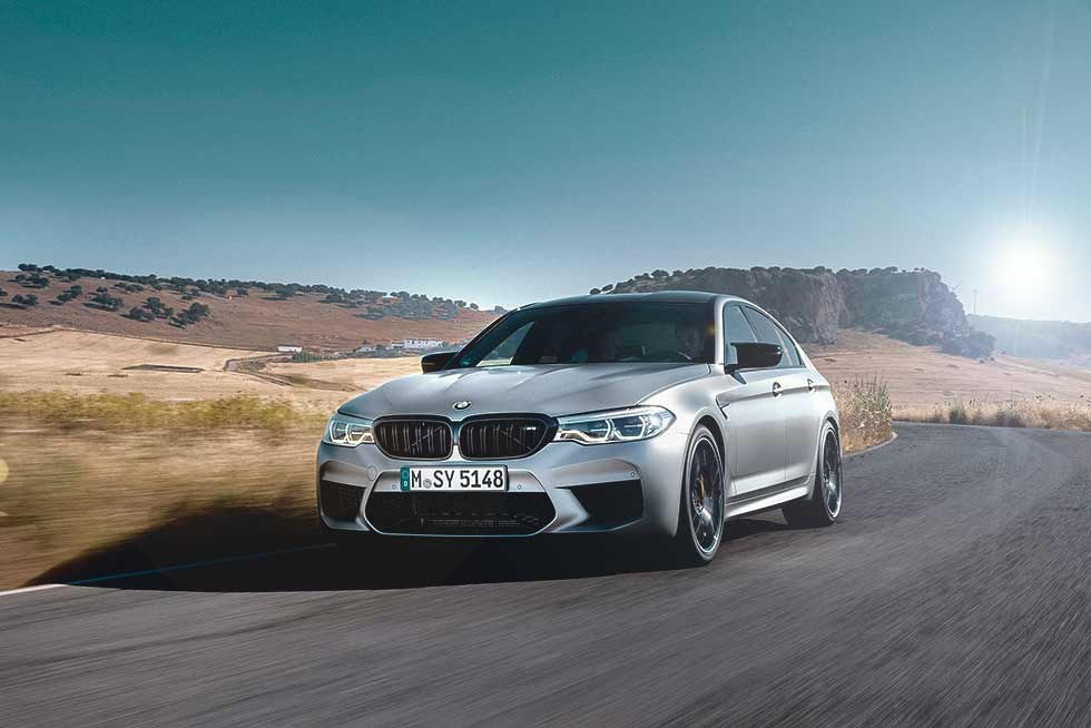 2019 BMW M5 Competition F90 / G30-based