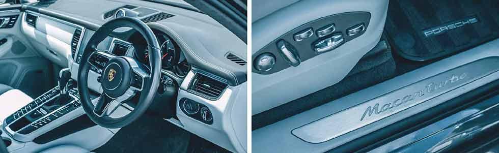 2019 Porsche Macan Performance Package Type 95B interior