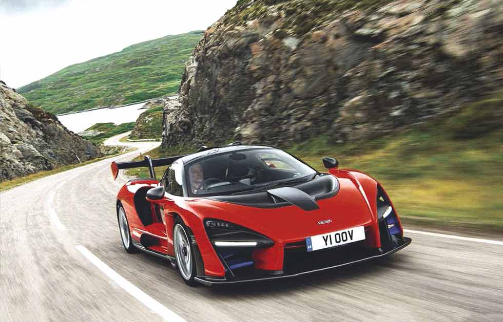 2019 McLaren Senna road test