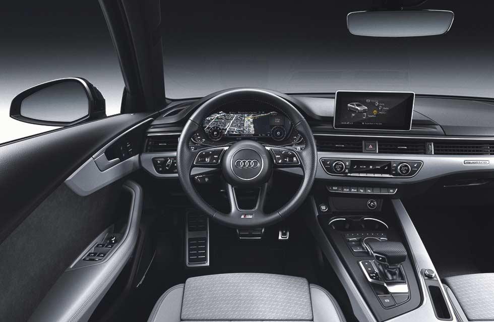 2019 Audi A4 B9 new interior