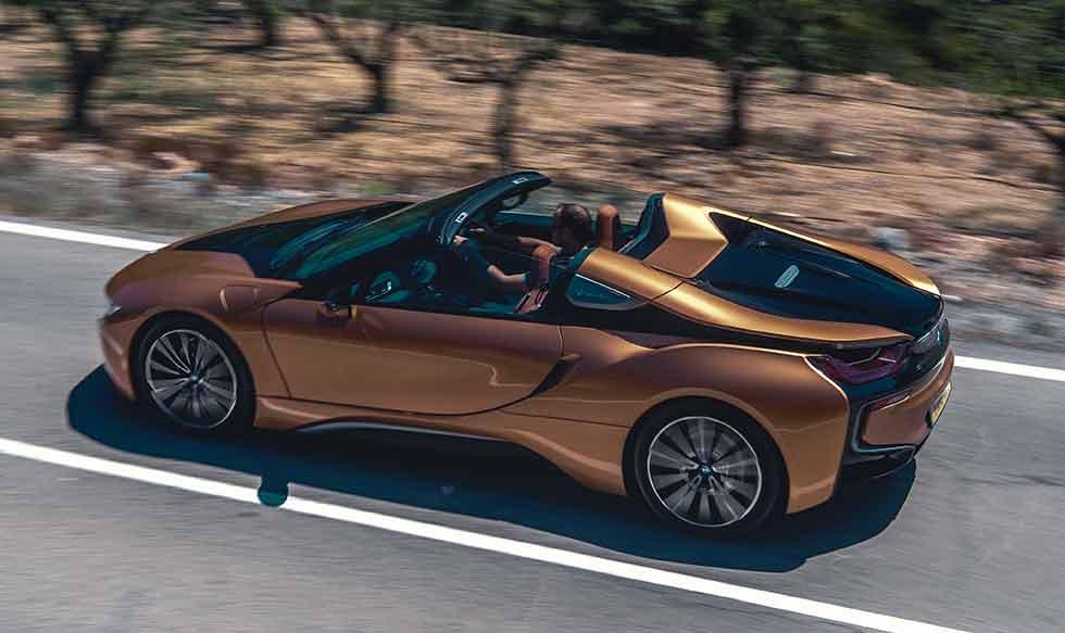 New 2019 BMW i8 Roadster I15