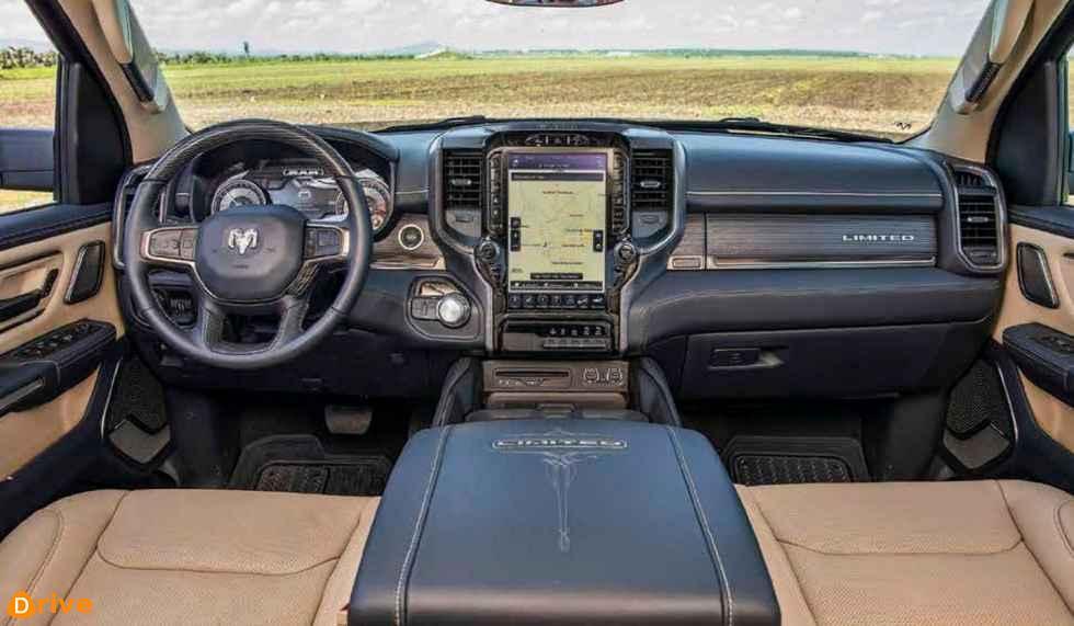 Dodge Ram 1500 Limited interior