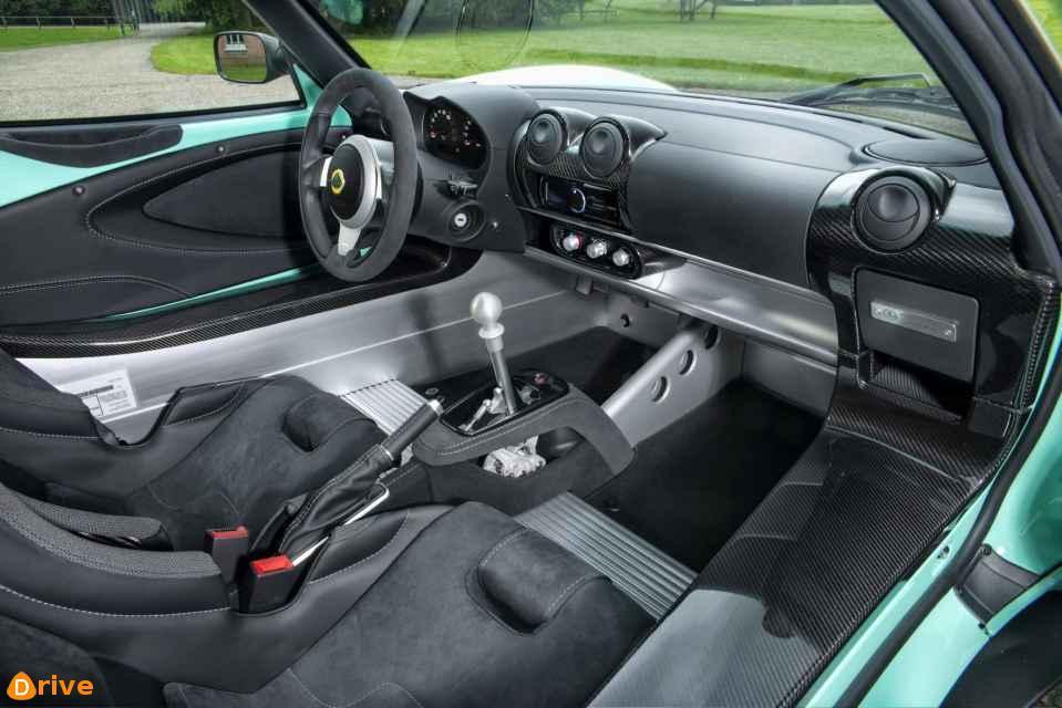Lotus Elise Cup 250 interior