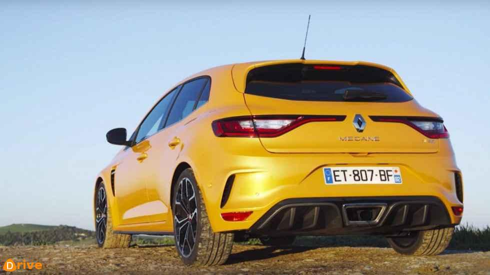 Renault Mégane RS Trophy rear bumper