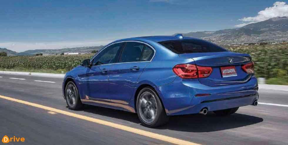 BMW 120i Sport Line at speed