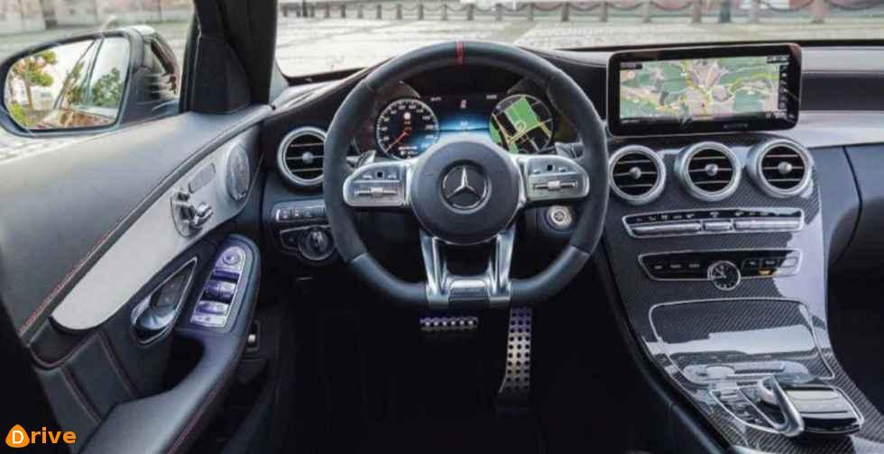 2018 Mercedes classe c interior