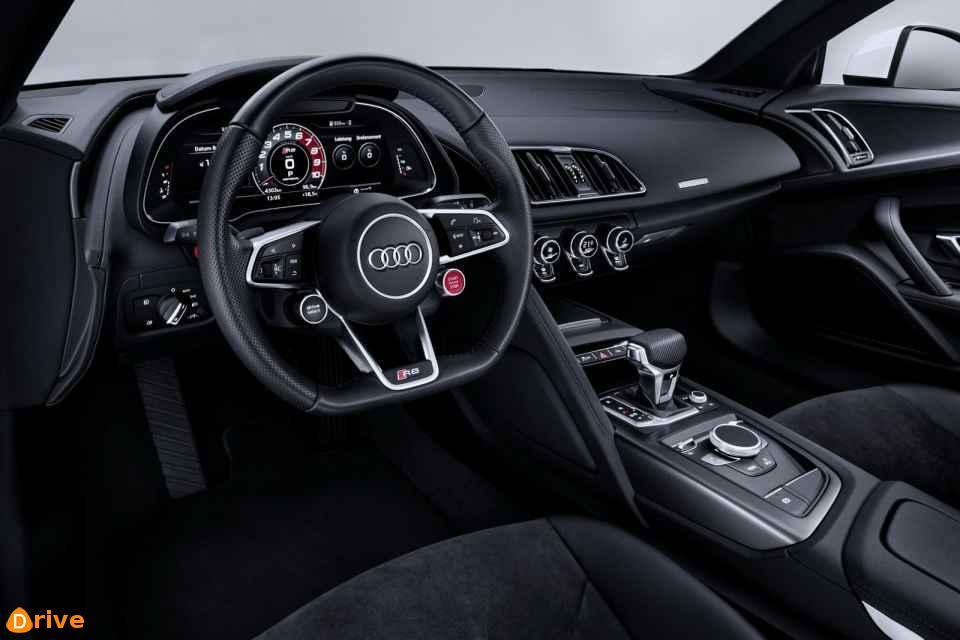 2018 Audi R8 V10 Coupé RWS interior