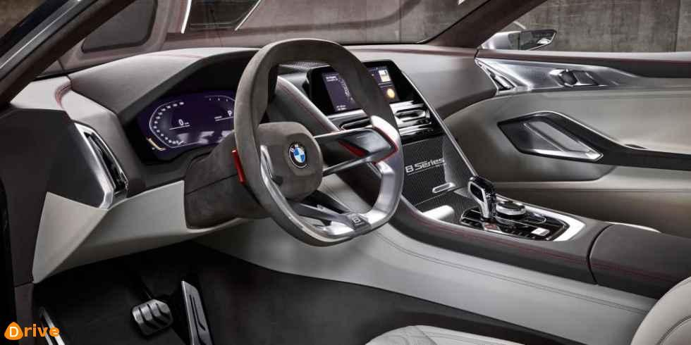 2018 BMW 8 Series Coupe interior