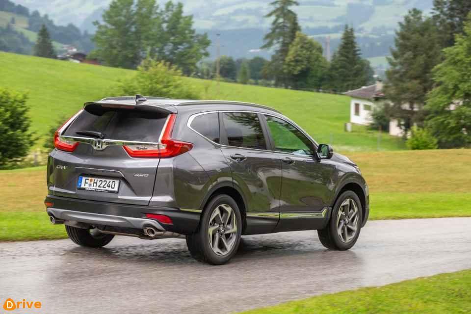 2018 Honda CR V rear view