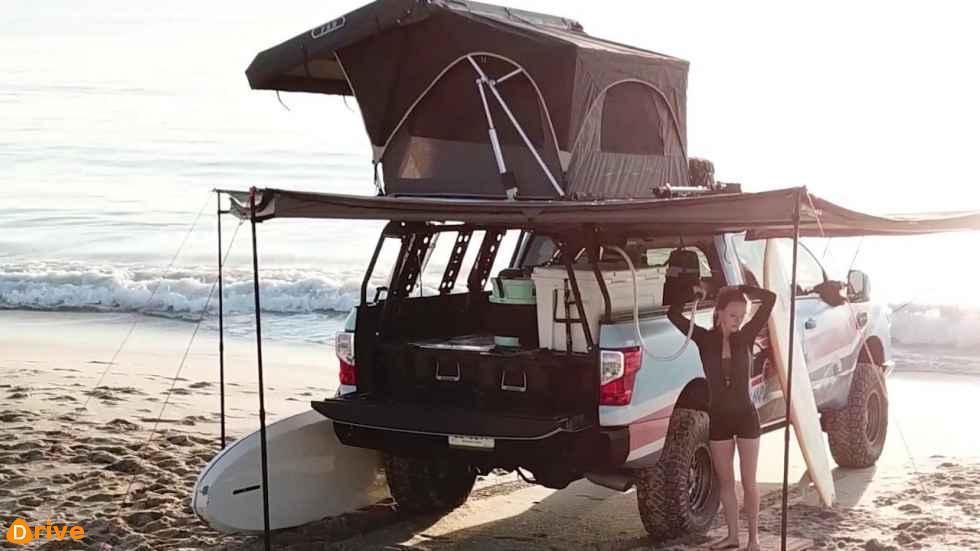 2018 Nissan Titan Surfcamp