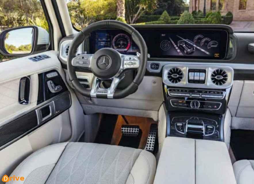 2018 Mercedes Clase G interior
