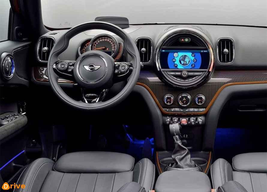 2018 Mini Cooper Countryman interior