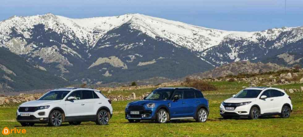 2018 Mini Copper vs Honda HR V VS VW T Roc