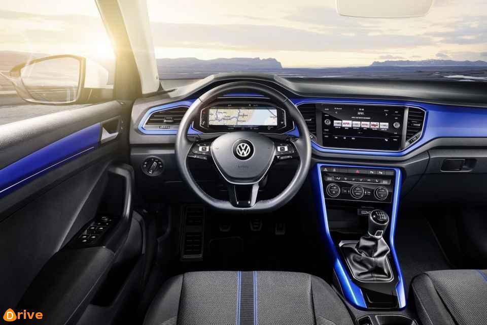 2018 Volkswagen T Roc interior