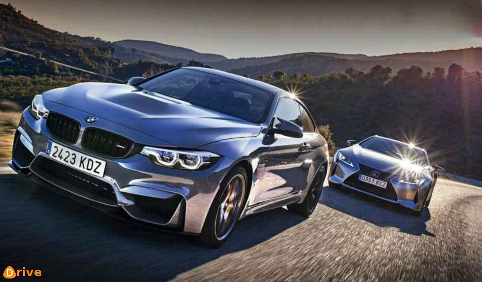 2018 BMW M4 CS vs Lexus LC 500