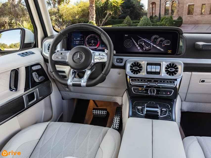 2018 Mercedes AMG G 63 interior