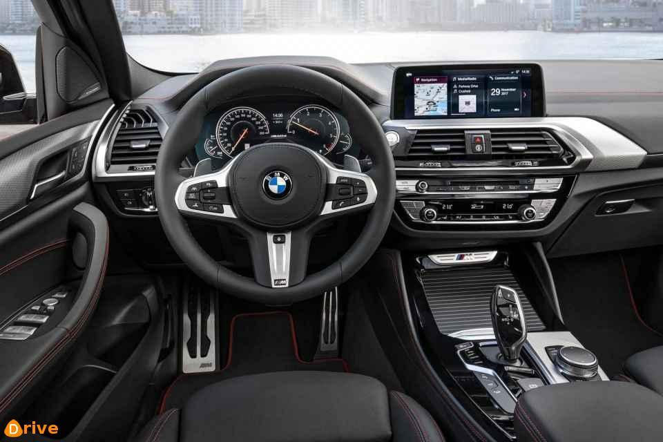 2018 BMW X4 xDRIVE 20d interior design