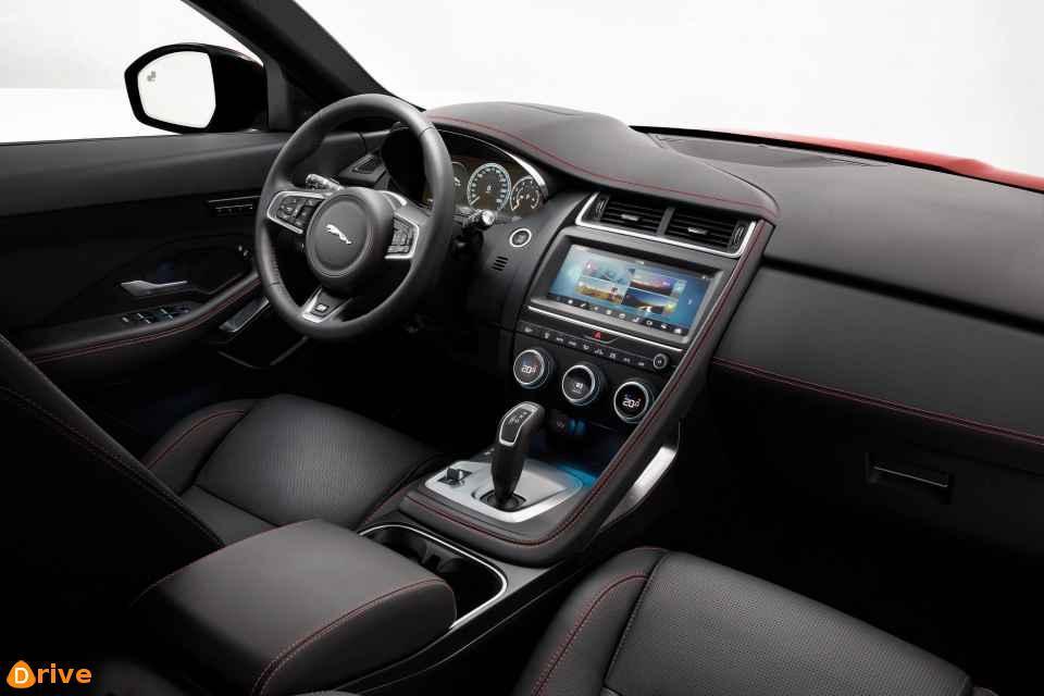 2018 Jaguar E Pace interior